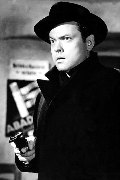 Orson Welles dans Le troisième homme