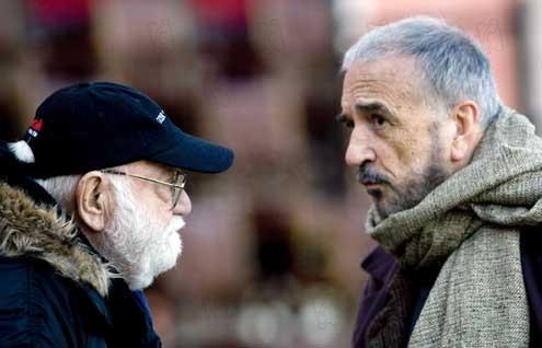 Milos Forman y Jean-Claude Carrière