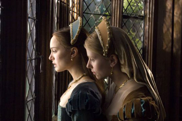 Natalie Portman Scarlett Johansson The Other Boleyn Girl