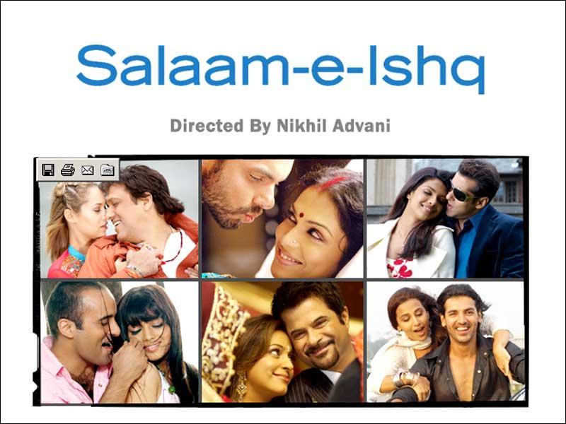 Salaam E Ishq (2007) - Salman Khan, Priyanka Chopra, Anil Kapoor, Juhi Chawla, Akshaye Khanna, Ayesha Takia, John Abraham
