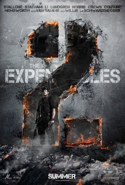 the expnedables 2 sylvester stallone
