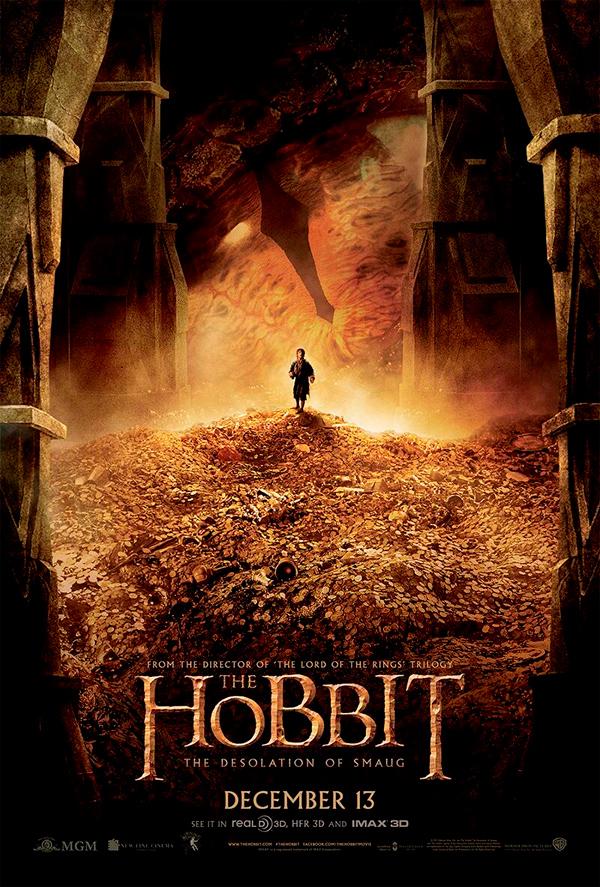 El Hobbit La Desolación De Smaug Póster Final De La Película Con Bilbo Irás A Verla Noticias De Cine Sensacine Com