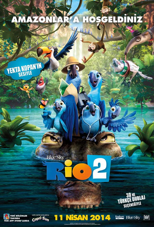Rio 2 afiş